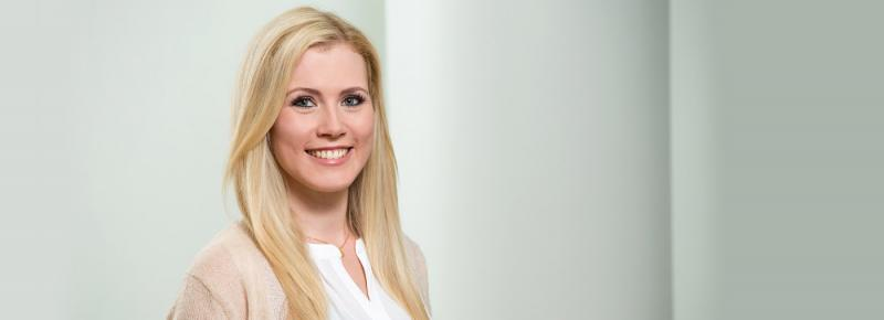 Sonja Leukefeld, medical assistant of the practice for plastic surgery Duesseldorf